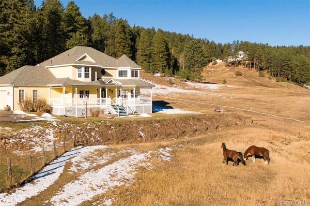 11951 Tecumseh Trail, Conifer, CO 80433 (#1876312) :: Realty ONE Group Five Star