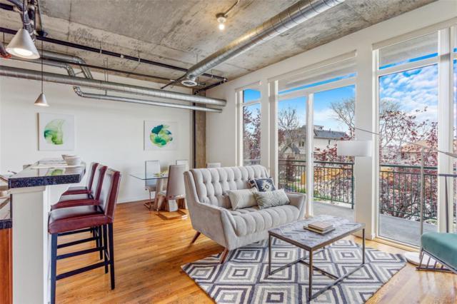 3201 Shoshone Street #105, Denver, CO 80211 (#1876624) :: Bring Home Denver with Keller Williams Downtown Realty LLC
