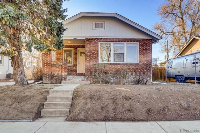 1443 Rosemary Street, Denver, CO 80220 (MLS #1878182) :: Kittle Real Estate