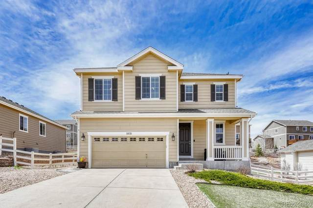 5531 Spring Ridge Trail, Castle Rock, CO 80104 (#1879985) :: The Harling Team @ HomeSmart