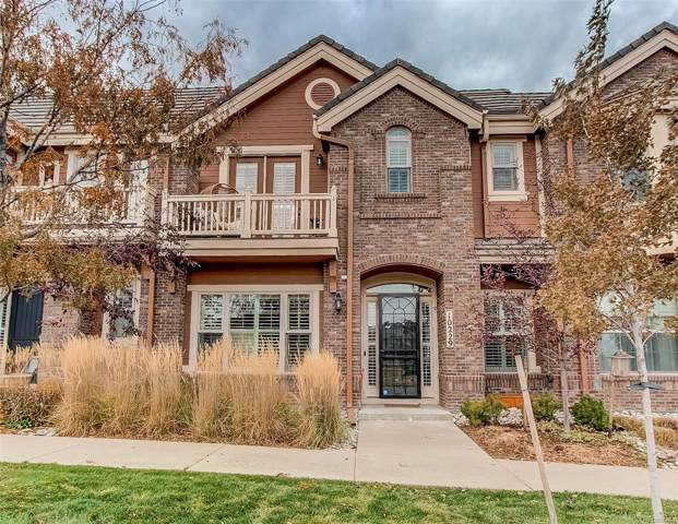 10229 Belvedere Lane, Lone Tree, CO 80124 (#1880540) :: The HomeSmiths Team - Keller Williams