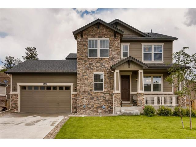 2730 Celtic Drive, Castle Rock, CO 80104 (MLS #1888906) :: 8z Real Estate