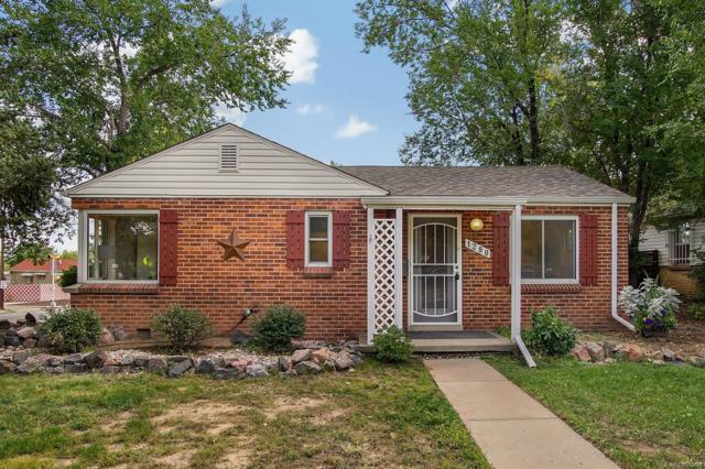 1280 Quebec Street, Denver, CO 80220 (#1889225) :: The Galo Garrido Group