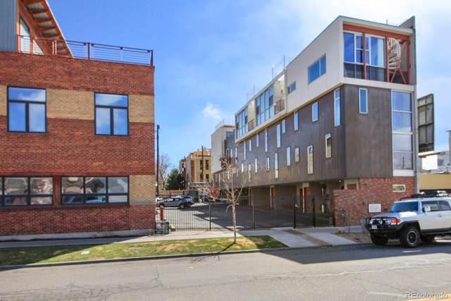 2340 Curtis Street #4, Denver, CO 80205 (#1891248) :: The DeGrood Team
