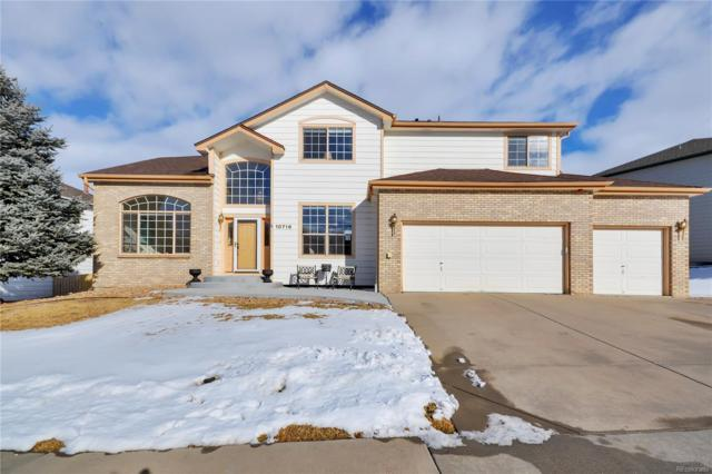 10716 Marcott Street, Parker, CO 80134 (#1891388) :: The Griffith Home Team