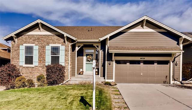 4424 Dusty Pine Trail, Castle Rock, CO 80109 (#1892217) :: The Griffith Home Team