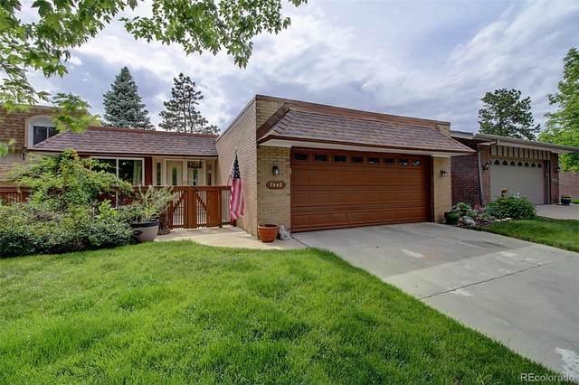 7443 W Cedar Circle, Lakewood, CO 80226 (MLS #1895551) :: 8z Real Estate
