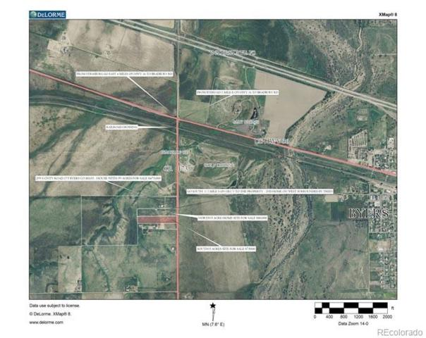 S County Rd 173 (Bradbury Rd), Byers, CO 80103 (#1896992) :: Structure CO Group