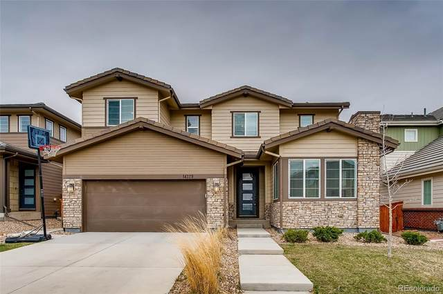 14329 Big Stone Drive, Parker, CO 80134 (#1898213) :: The Scott Futa Home Team