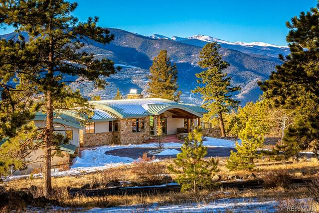 3965 Douglas Mountain Drive, Golden, CO 80403 (MLS #1898975) :: The Sam Biller Home Team