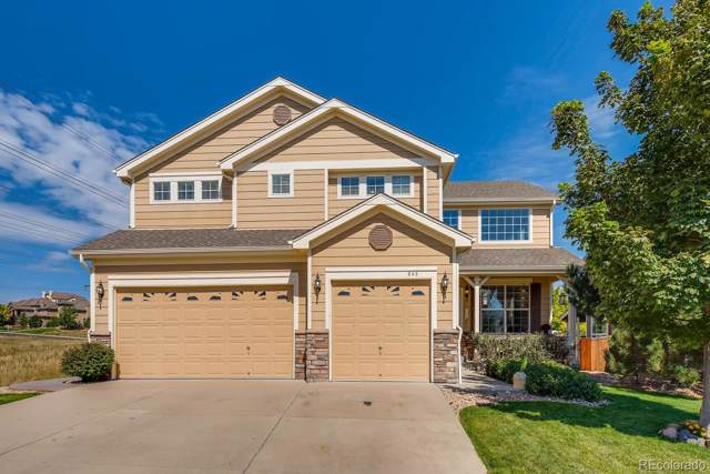 843 Orion Way, Castle Rock, CO 80108 (#1899456) :: The Healey Group