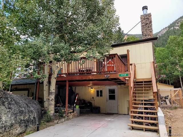 1714 Clear Creek Drive, Georgetown, CO 80444 (MLS #1904894) :: 8z Real Estate
