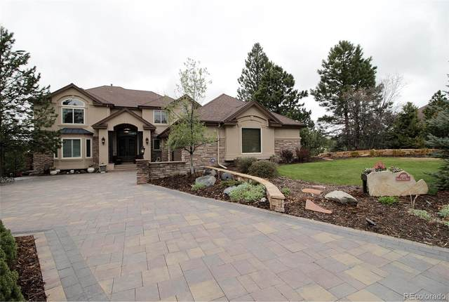 8920 Scenic Pine Drive, Parker, CO 80134 (#1906966) :: The DeGrood Team