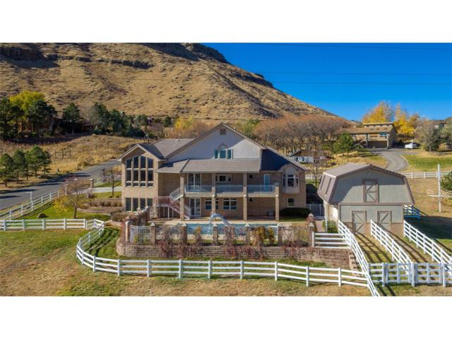 17227 W 53rd Drive, Golden, CO 80403 (MLS #1909059) :: 8z Real Estate