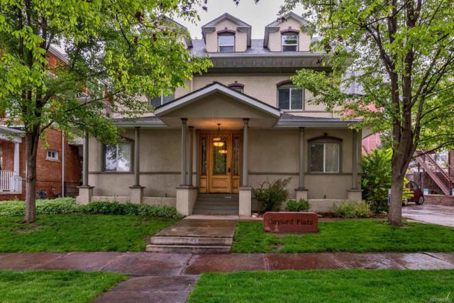 1750 Gaylord Street C, Denver, CO 80206 (#1909476) :: Colorado Team Real Estate