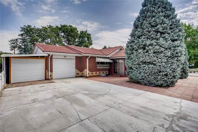 6629 W Louisiana Place, Lakewood, CO 80232 (MLS #1910449) :: 8z Real Estate