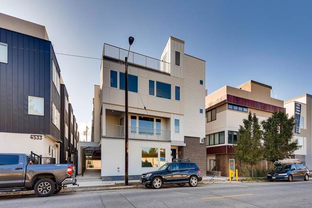 4537 N Tennyson Street #4, Denver, CO 80212 (#1923945) :: Berkshire Hathaway HomeServices Innovative Real Estate