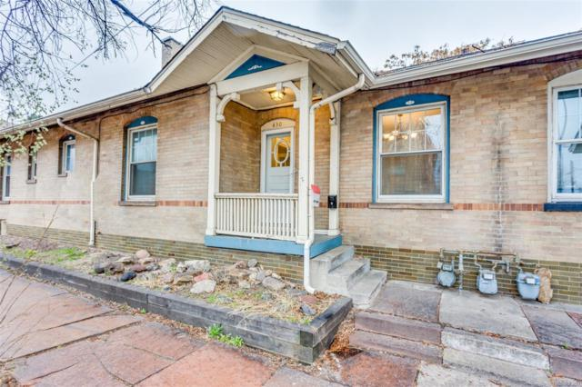 430 E 6th Avenue, Denver, CO 80203 (#1924623) :: The Heyl Group at Keller Williams