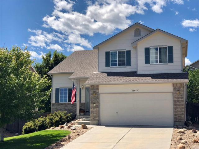 18644 Horse Creek Street, Parker, CO 80134 (#1931709) :: The Griffith Home Team