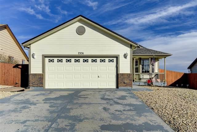 7531 Sun Prairie Drive, Colorado Springs, CO 80925 (MLS #1936407) :: Bliss Realty Group