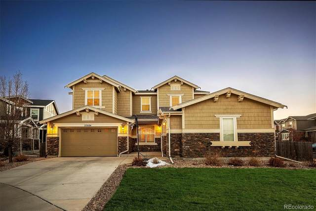25604 E Maplewood Place, Aurora, CO 80016 (#1940434) :: The Harling Team @ HomeSmart