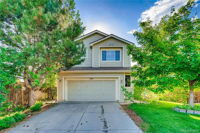 1343 Spotted Owl Way, Highlands Ranch, CO 80129 (MLS #1941181) :: 8z Real Estate