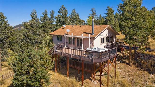 26792 Hilltop Road, Evergreen, CO 80439 (#1945559) :: The Peak Properties Group