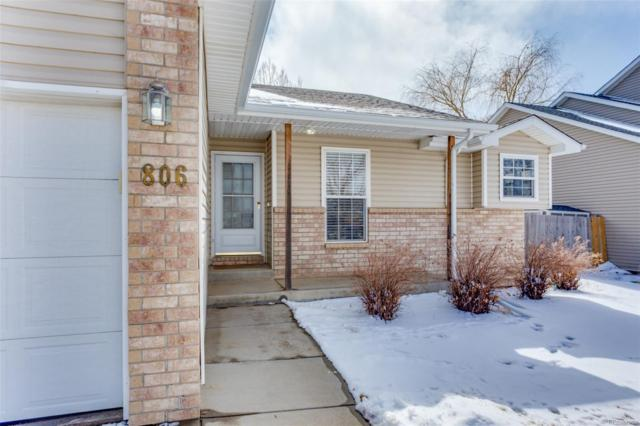 806 Mcclure Avenue, Firestone, CO 80504 (MLS #1946659) :: 8z Real Estate
