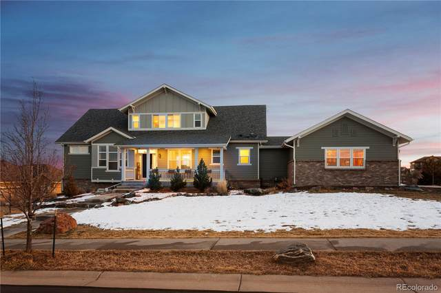 7601 Weaver Circle, Castle Rock, CO 80104 (#1948740) :: HomeSmart