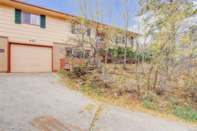 443 E Fountain Place, Manitou Springs, CO 80829 (#1951547) :: HomePopper