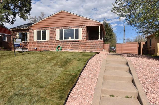 3074 Krameria Street, Denver, CO 80207 (MLS #1952242) :: 8z Real Estate