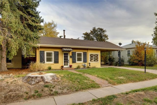 2612 S Pennsylvania Street, Denver, CO 80210 (#1953754) :: The HomeSmiths Team - Keller Williams