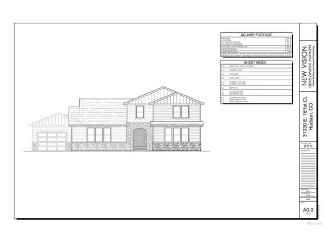 31330 E 161st Court, Hudson, CO 80642 (MLS #1955628) :: 8z Real Estate