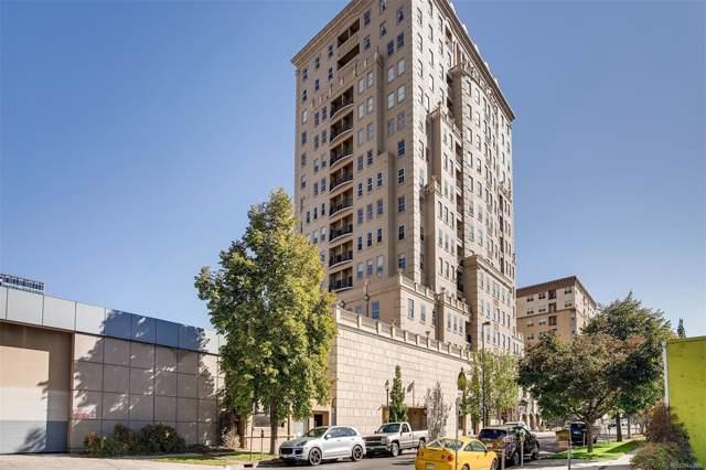 475 W 12th Avenue 4D, Denver, CO 80204 (#1964699) :: The DeGrood Team