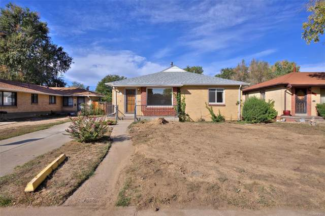 3335 Pontiac Street, Denver, CO 80207 (MLS #1967985) :: 8z Real Estate