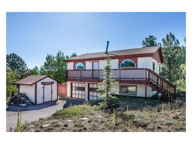 160 Smokey Rock Road, Bailey, CO 80421 (MLS #1972019) :: 8z Real Estate