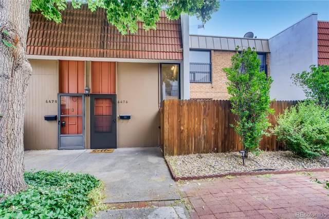 6476 E Bates Avenue, Denver, CO 80222 (MLS #1972125) :: Find Colorado