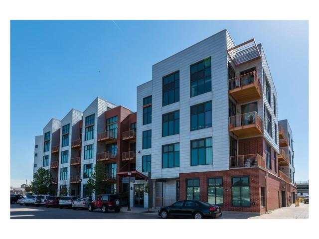3100 Huron Street 1D, Denver, CO 80202 (#1980723) :: The Peak Properties Group