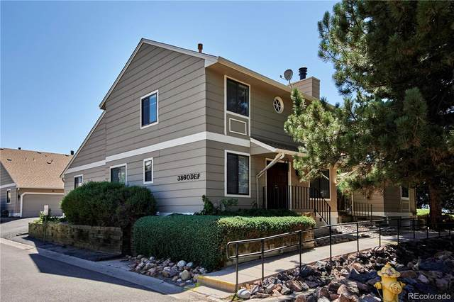 3860 S Atchison Way F, Aurora, CO 80014 (#1989089) :: The DeGrood Team