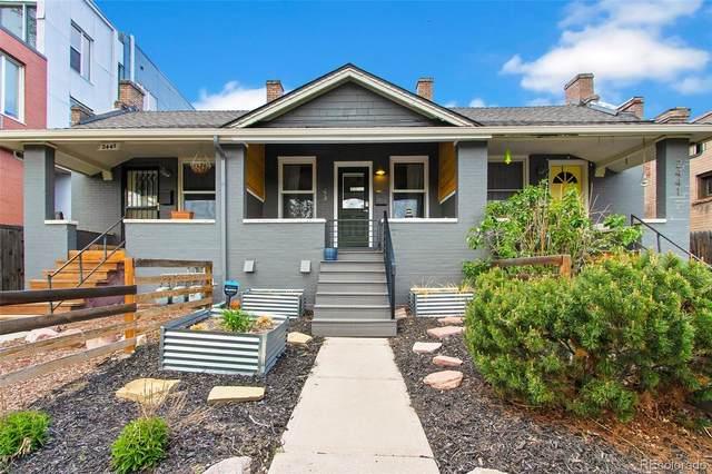 2443 W Dunkeld Place, Denver, CO 80211 (#1989266) :: Berkshire Hathaway HomeServices Innovative Real Estate