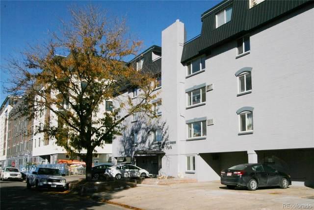 336 N Grant Street #407, Denver, CO 80203 (#1997793) :: Finch & Gable Real Estate Co.