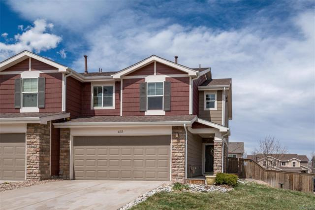 6163 Raleigh Circle, Castle Rock, CO 80104 (#2002295) :: The Heyl Group at Keller Williams