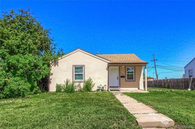 830 Grove Street, Denver, CO 80204 (MLS #2004816) :: Kittle Real Estate