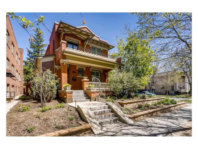 1000 N Downing Street, Denver, CO 80218 (#2005649) :: The Peak Properties Group