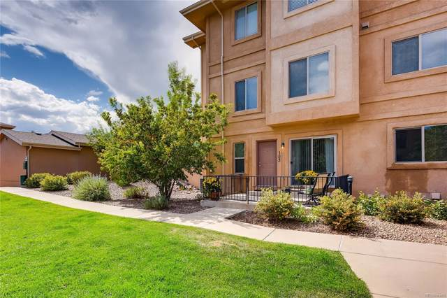 1570 Little Bear Creek Point #103, Colorado Springs, CO 80904 (MLS #2006751) :: 8z Real Estate