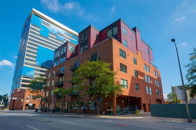 1800 Lawrence Street #501, Denver, CO 80202 (#2008957) :: Bring Home Denver