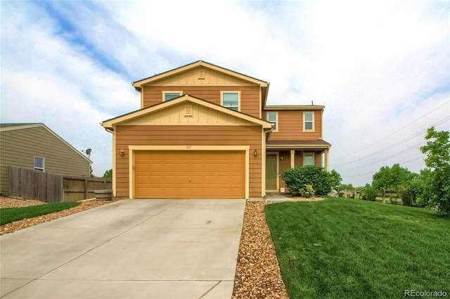 337 Feather Place, Lochbuie, CO 80603 (#2013979) :: Finch & Gable Real Estate Co.