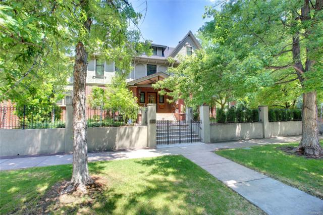 1433 E 7th Avenue, Denver, CO 80218 (#2014690) :: My Home Team