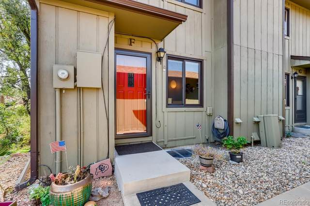 1603 Cottonwood Drive F, Louisville, CO 80027 (#2021516) :: The Healey Group
