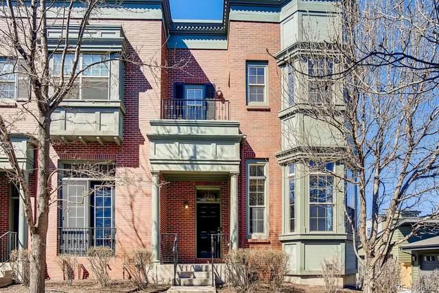 8719 E 29th Place, Denver, CO 80238 (#2022208) :: The Griffith Home Team